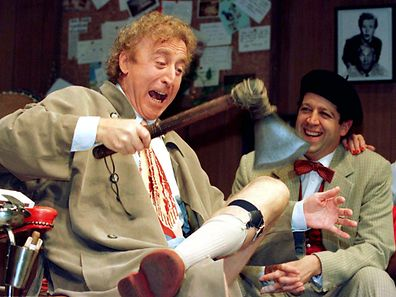 "Abgedrehter Humor: Gene Wilder (l.) in ""Laughter on the 23rd Floor""."
