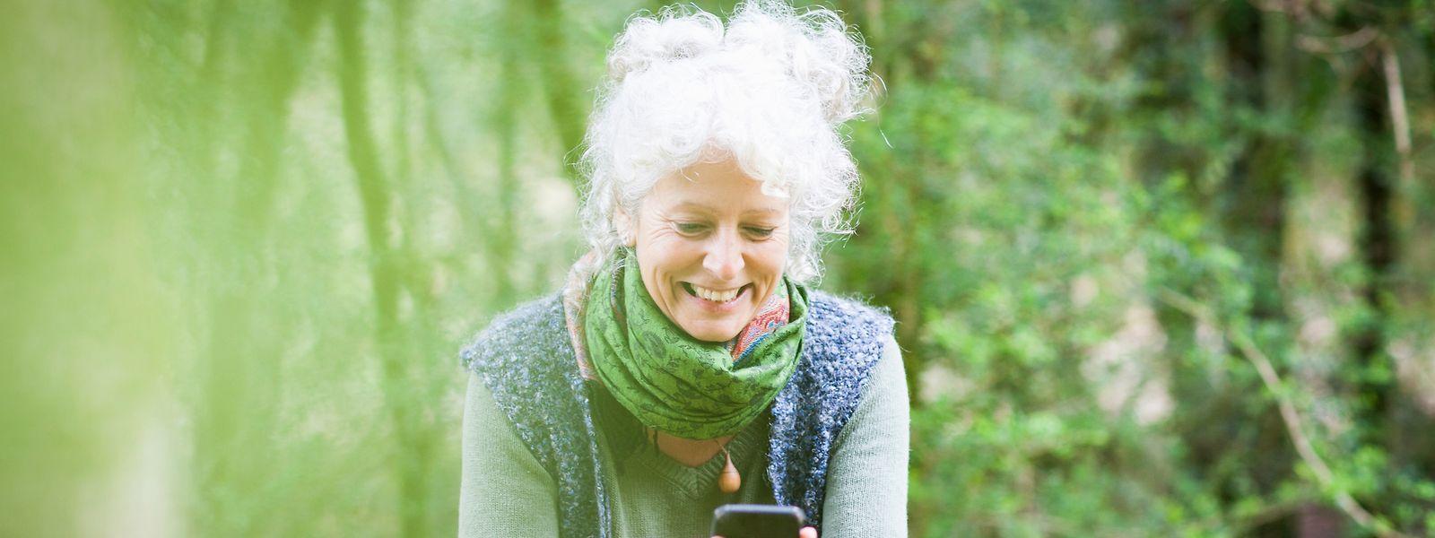 Über Apps kann das Smartphone einem helfen, den Weg aus schwierigen Lebensphasen zu meistern und sein Lächeln wiederzufinden.