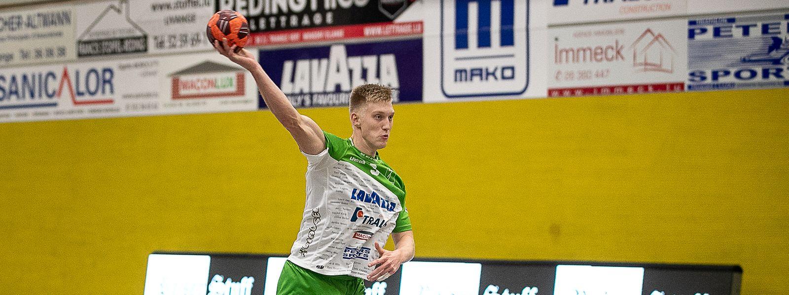 Ariel Pietrasik gelangen fünf Tore.