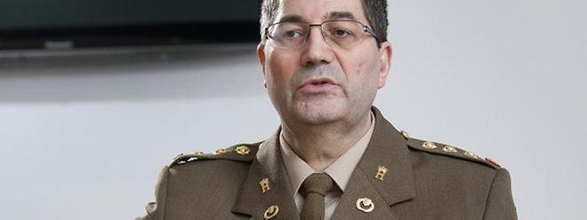 Colonel Mario Daubenfeld wird neuer Armeechef.
