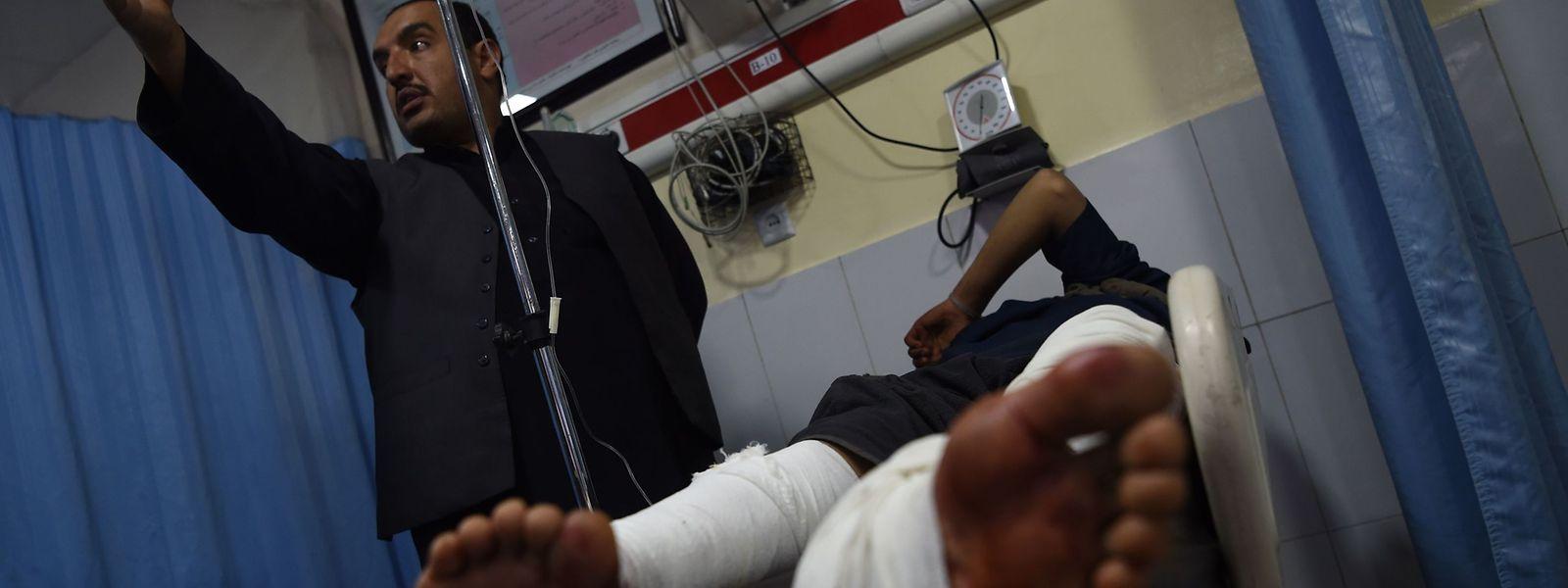 Viele Menschen wurden bei dem Anschlag verletzt.