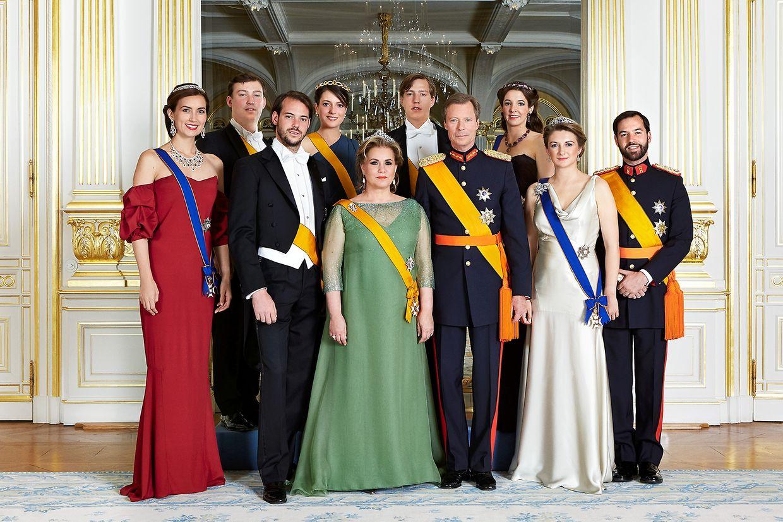 La famille Grand-Ducale lors de la fête Nationale.
