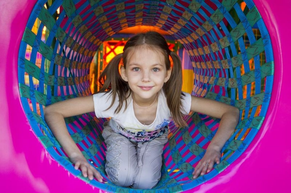 Most indoor play areas are open rain or shine Photo: Shutterstock