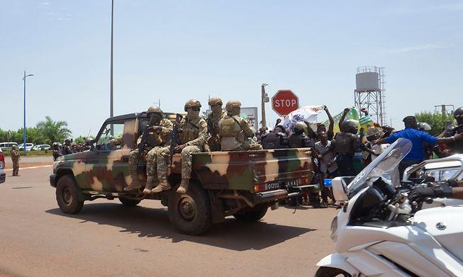 Troops in Mali
