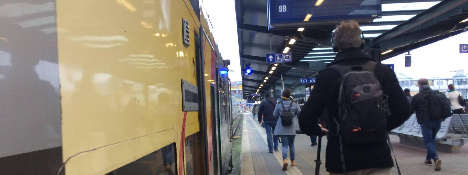 Les trains frontaliers vont devoir s'adapter d'ici le 1er janvier au changement opéré par les CFL.