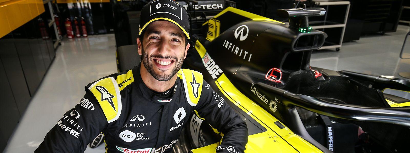 In der vergangenen Saison landete Daniel Ricciardo auf dem neunten Rang in der WM-Gesamtwertung.