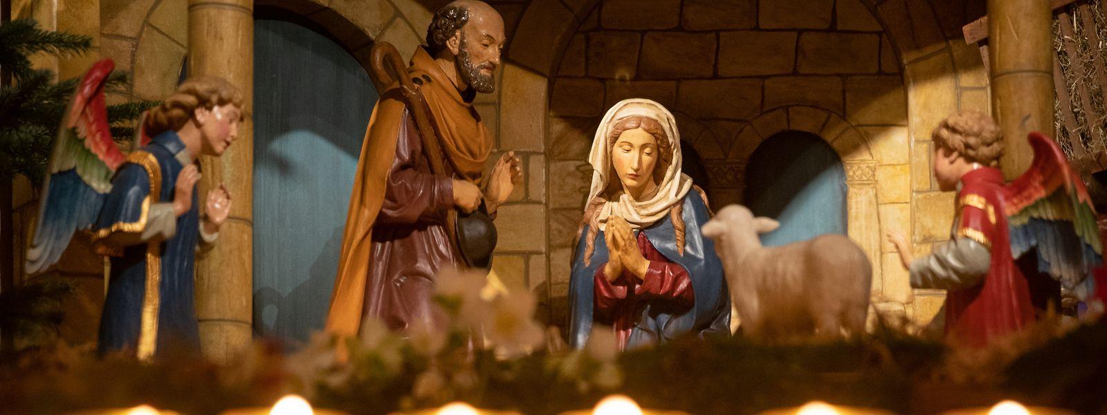 Die Heilige Nacht haben auch Maria und Josef unter widrigen Bedingungen verbracht.