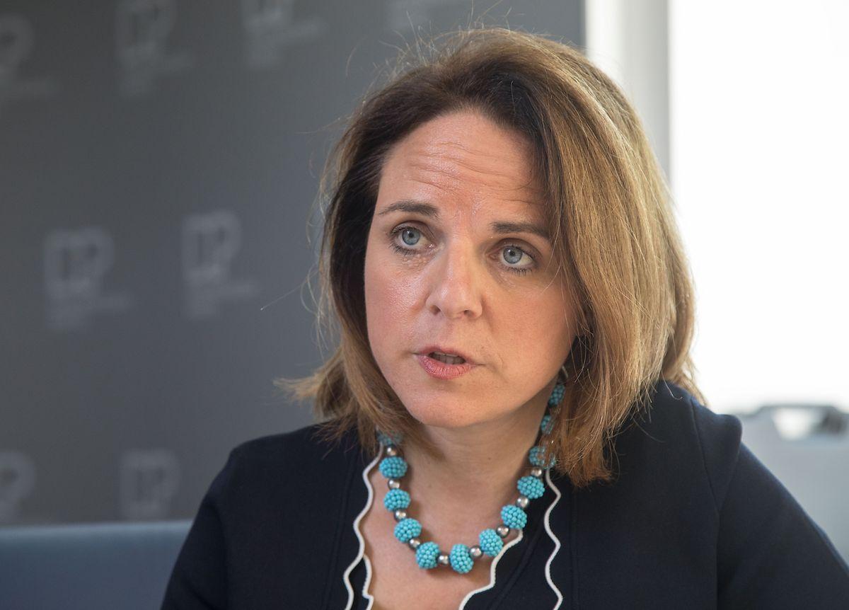 Corinne Cahen rutscht laut Politmonitor in der Wählergunst ab und verliert elf Prozentpunkte.
