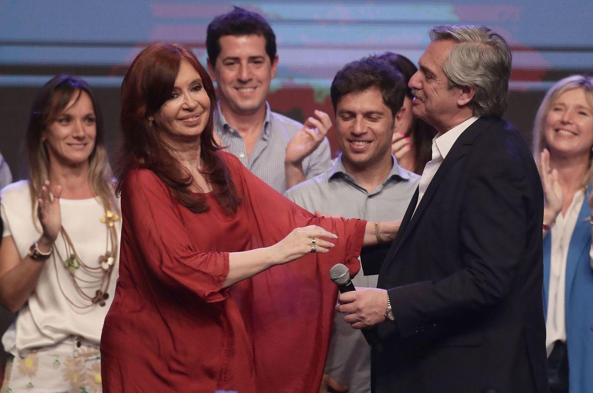 Alberto Fernández und Cristina Fernández de Kirchner.