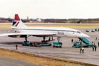 Zur Wiedereröffnung der Strecke London-Heathrow / Luxemburg 1985 wurde der Erstflug mit einer BA-Concorde geflogen.