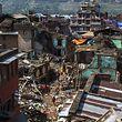 Non loin de Katmandou, après le terrible séisme du 25 avril.