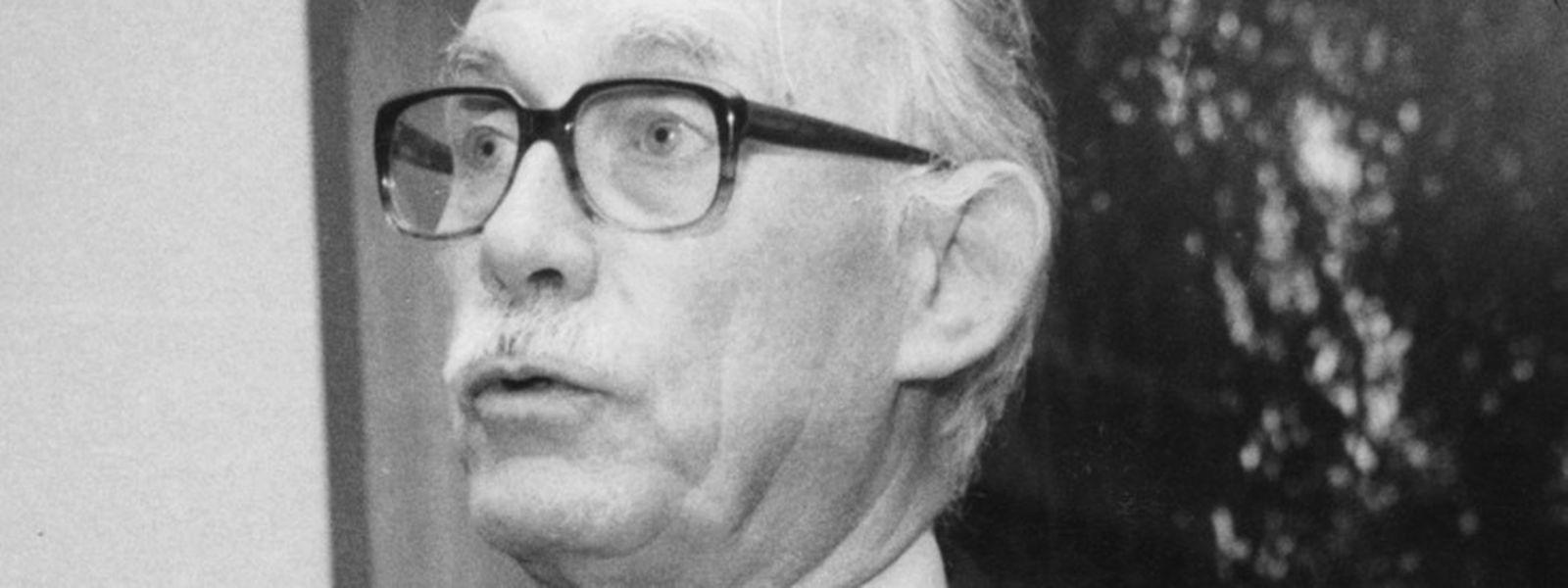 Carlo Clasen est décédé à l'âge de 90 ans à Bordeaux