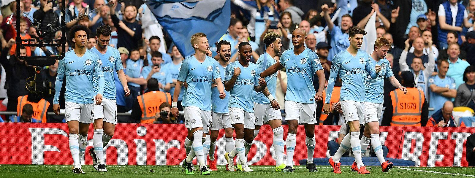 Premier League, FA Cup et Coupe de la Ligue, les joueurs de Manchester City ont tout gagné en Angleterre cette saison.