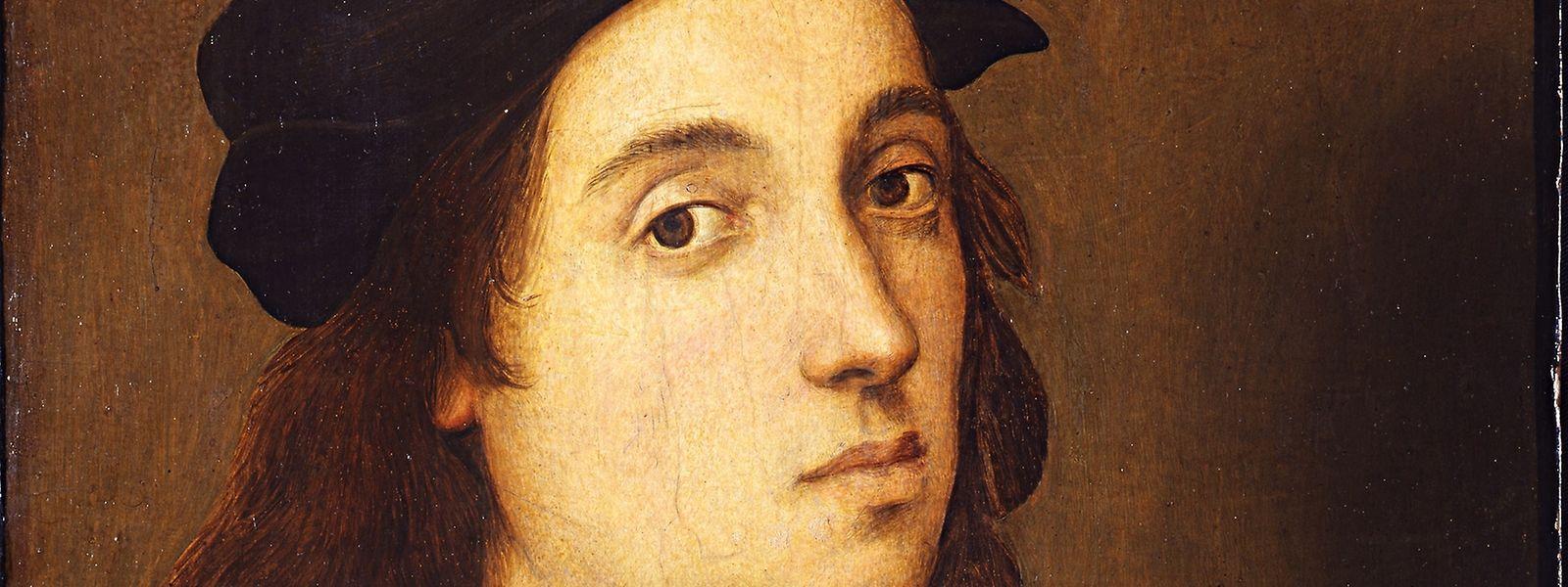 Selbstporträt (1506-1508) von  Raffael.
