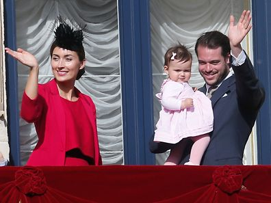 Oktav, Octave, Oktave - Schlusspr�ssessioun, Schlussprozession 2015, Le Prince Felix et la Princesse Claire, a Luxembourg, le 10 Mai 2015. Photo: Chris Karaba