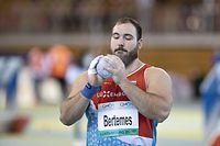 Bob Bertemes (Kugelstossen) / Leichtathletik, CMCM Indoor Meeting 2021 / 13.02.2021 / Luxemburg / Foto: Christian Kemp