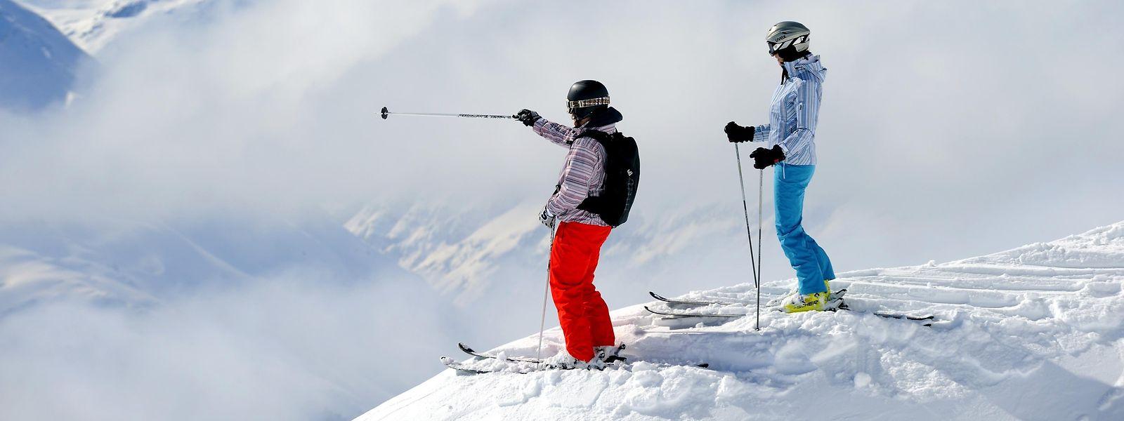 Wer die Weite sucht, wird auf den Gipfeln rund um Sankt Anton fündig.