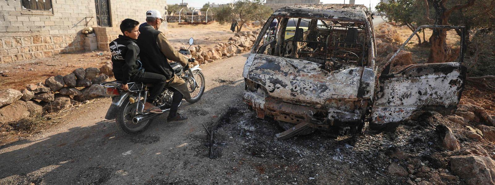 US-Spezialeinheiten führten am Wochenende eine Operation in Barischa im Nordwesten Syriens durch. IS-Chef Al-Bagdadi soll bei diesem Zugriff ums Leben gekommen sein.