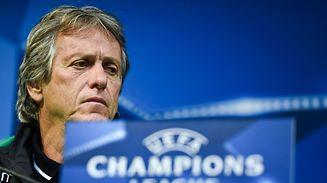 O treinador do Sporting, Jorge Jesus