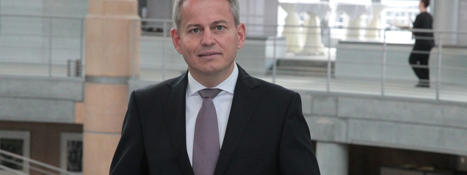Frank Krings, leitet die Deutsche Bank Luxembourg seit April 2016.