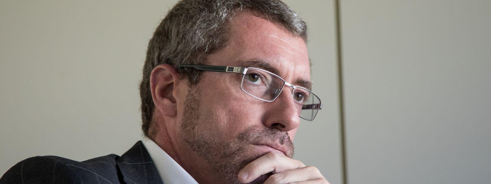 CSV-Parteipräsident Frank Engel fordert harte Strafen bei Verstößen gegen die angekündigte Ausgangssperre.