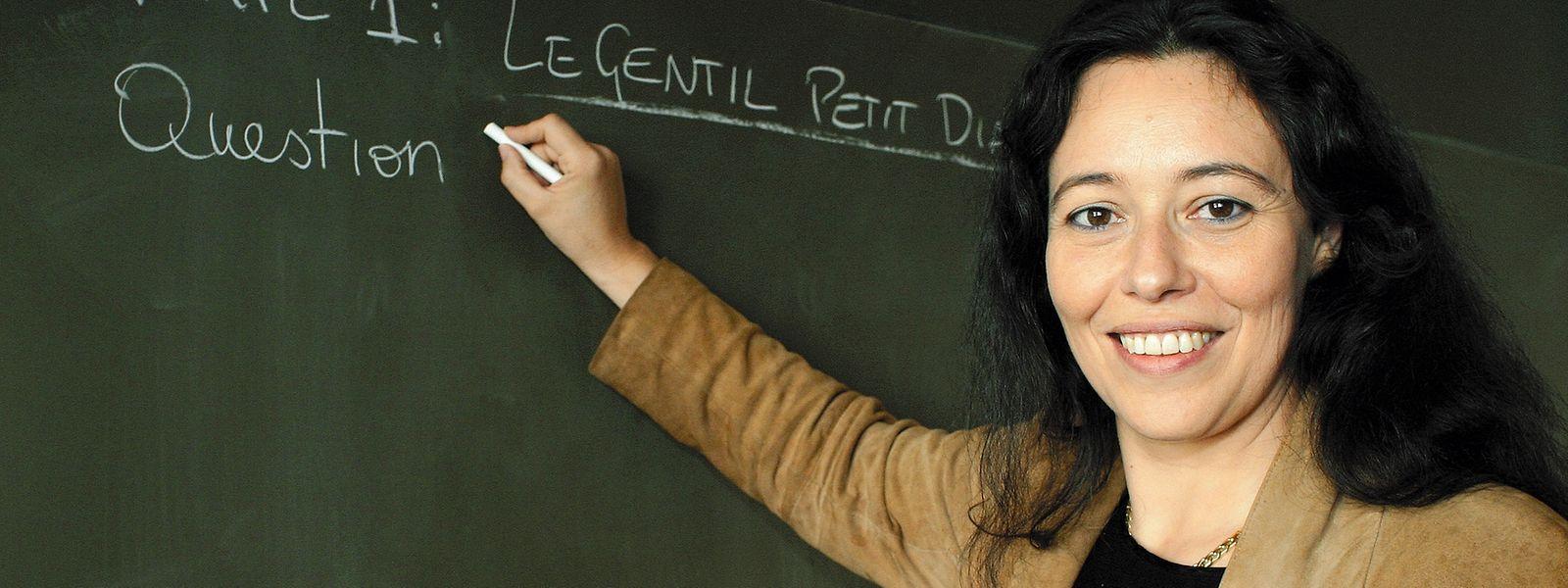 Além de política, Isabel Wiseler-Lima é professora de francês num liceu privado.