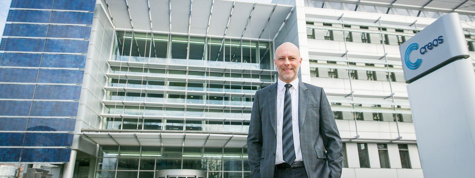 Alex Michels ist als Head of Asset Management bei Creos für die Planung und den Ausbau der Netze zuständig.