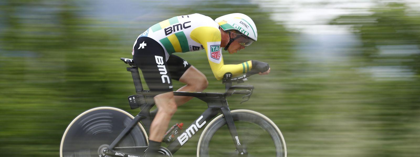 L'Australien Rohan Dennis (BMC) a bouclé les 34,2 km en 40 minutes chrono