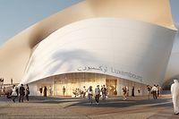 Harmonisch geschwungen präsentiert sich der Pavillon des Großherzogtums bei der Expo 2020 Dubai: Dieses internationale Parkett muss die nationale Kulturszene nutzen, um auf all das hinzuweisen, was nicht so rundläuft.
