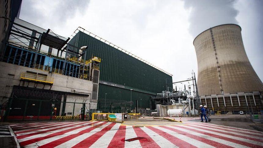 La centrale nucléaire de Cattenom.