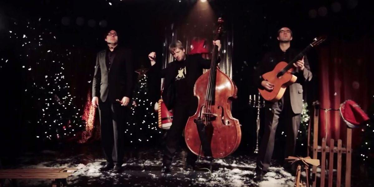 Wildes Holz geben Weihnachtsklassikern eine echte Punknote.