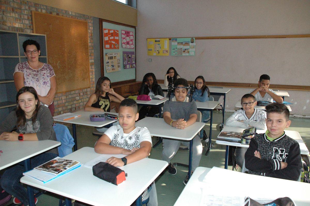 Ce 19 septembre, les élèves de la classe ont fait leur rentrée.