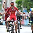 2016 führte die dritte Etappe von Eschweiler nach Differdingen. Es jubelte der Franzose Antony Turgis.
