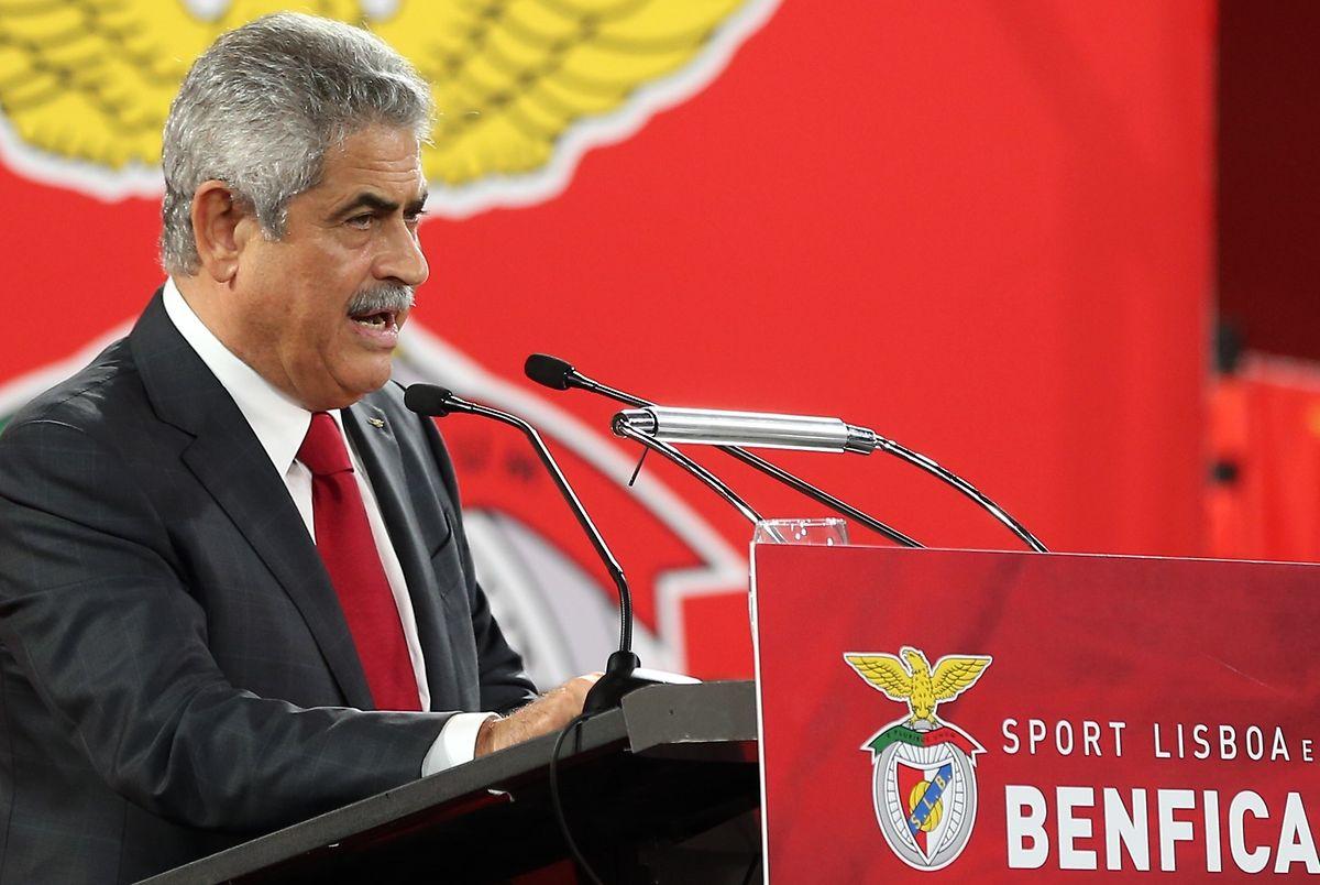 Luis Filipe Vieira , presidente do Benfica