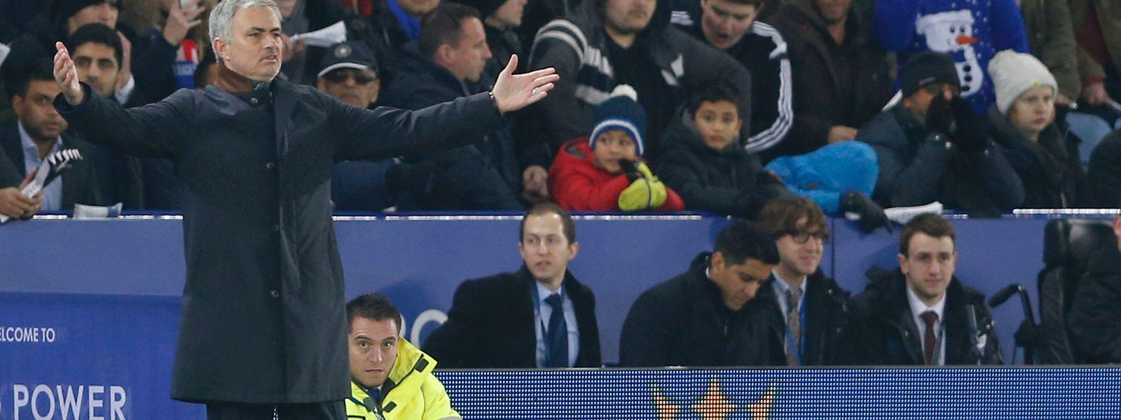 """José Mourinho: """"In die Top Vier können wir nicht mehr kommen."""""""