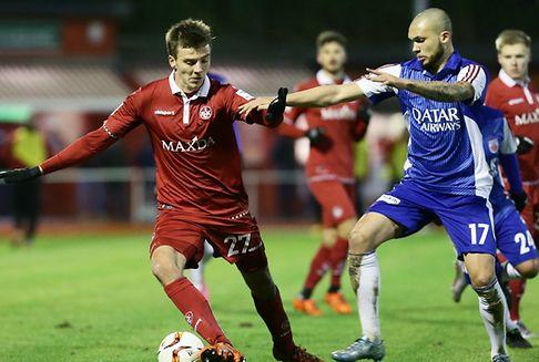 Fußball: Fola verliert mit 0:3 gegen Kaiserslautern