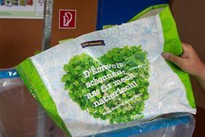 15.7. Oekocenter Hesperange / Recycling Mehrwegeinkaufstüten / Oekotüten Foto:Guy Jallay