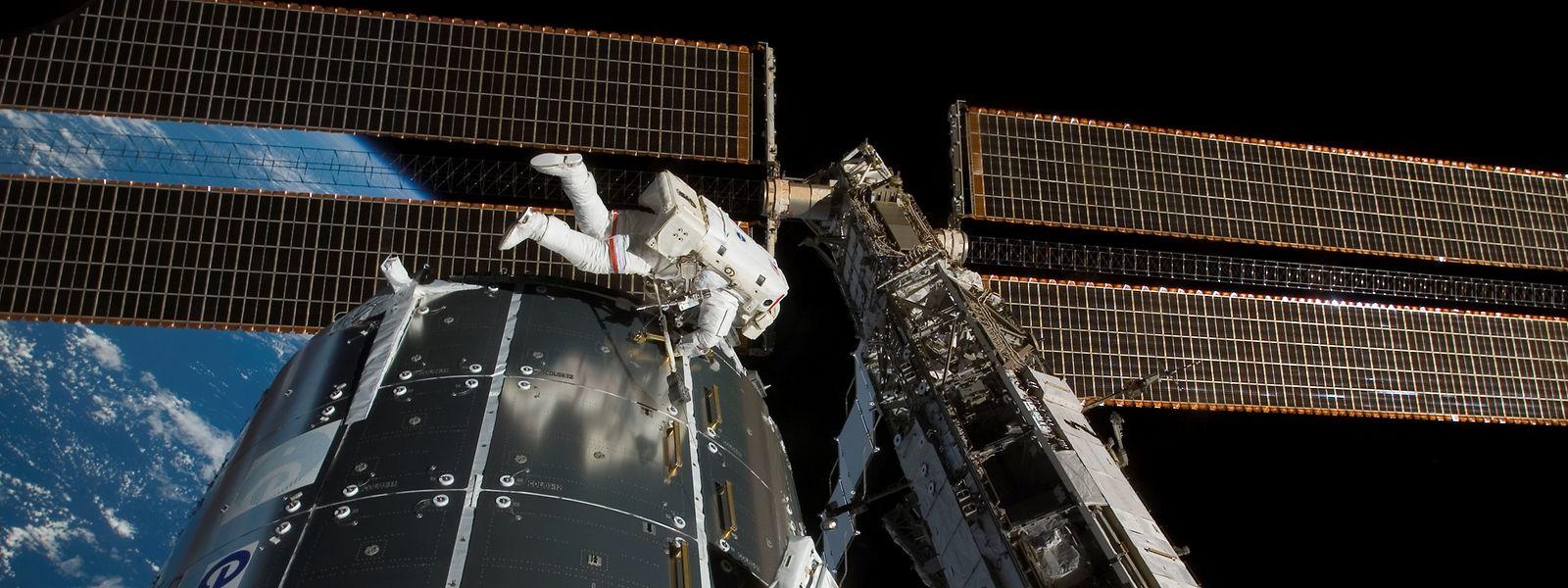 Es handelt sich bereits um den vierten Außeneinsatz auf der ISS in diesem Jahr.