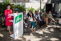 Die Fraktionspräsidentin der Grünen, Josée Lorsché forderte eine Gesamtbilanz von externen Experten über die Pandemiepolitik der Regierung.