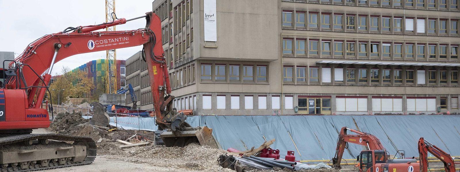 Das alte Gebäude bleibt größtenteils bestehen, wird aber um einen Anbau ergänzt.