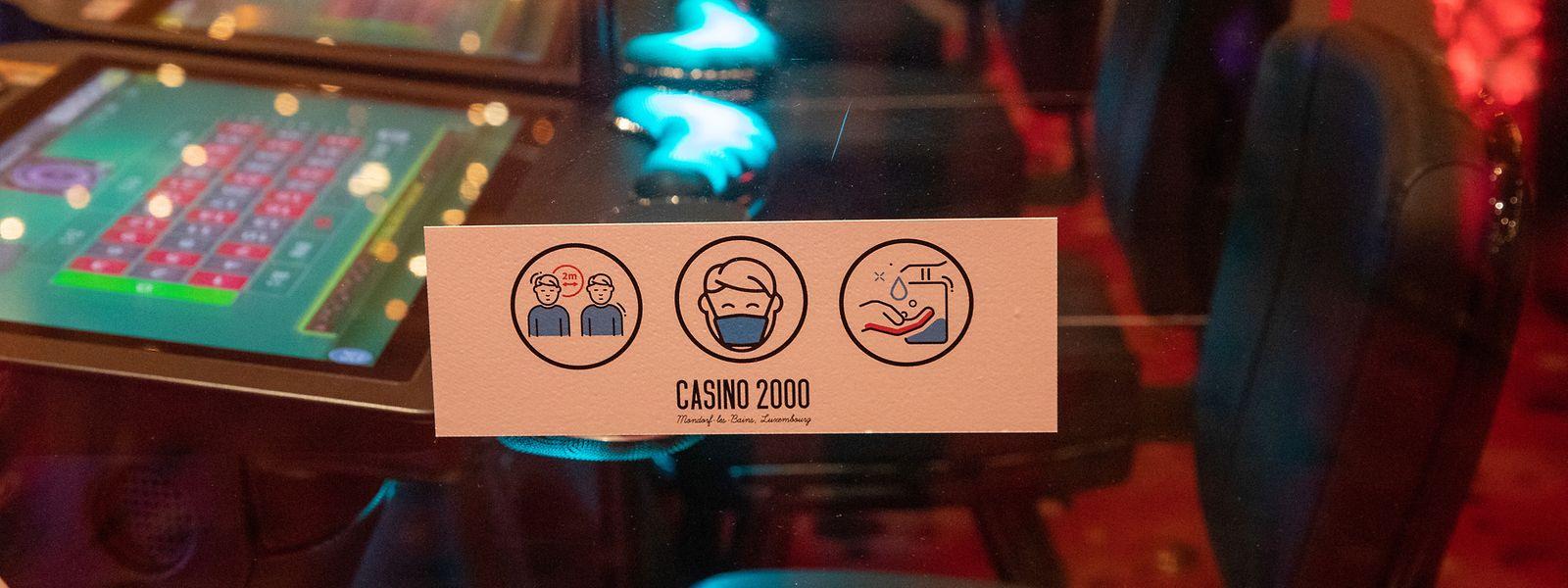 Habituellement, le casino accueille en moyenne 520.000 personnes par an.