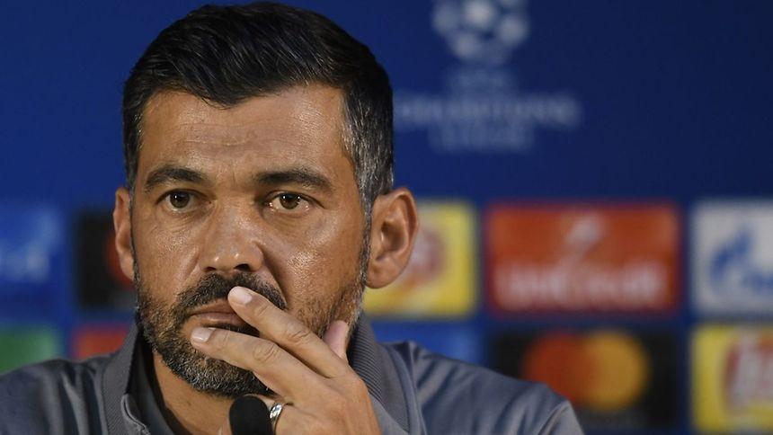 O treinador do FC Porto, Sérgio Conceição.