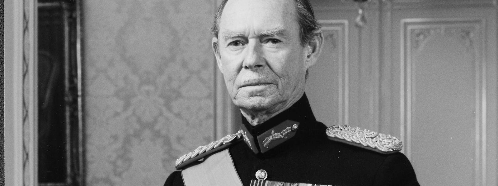 Jean war zwischen 1964 und 2000 Großherzog von Luxemburg.