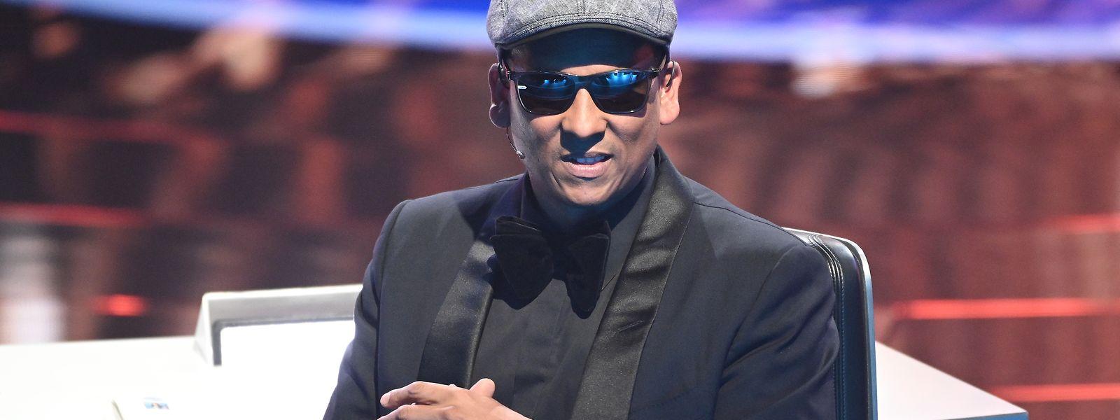 Ex-Juror Xavier Naidoo sitzt beim Finale der RTL-Castingshow «Deutschland sucht den Superstar 2019».
