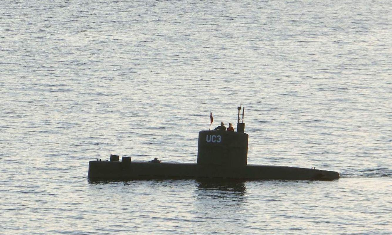 """Die Vermisste war zuletzt gesehen worden, als sie für eine Reportage mit dem privaten U-Boot """"Nautilus"""" auslief."""