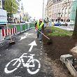 Lokales,Verkehrsänderungen im Bahnhofsviertel ab Montag. Foto: Gerry Huberty/Luxemburger Wort