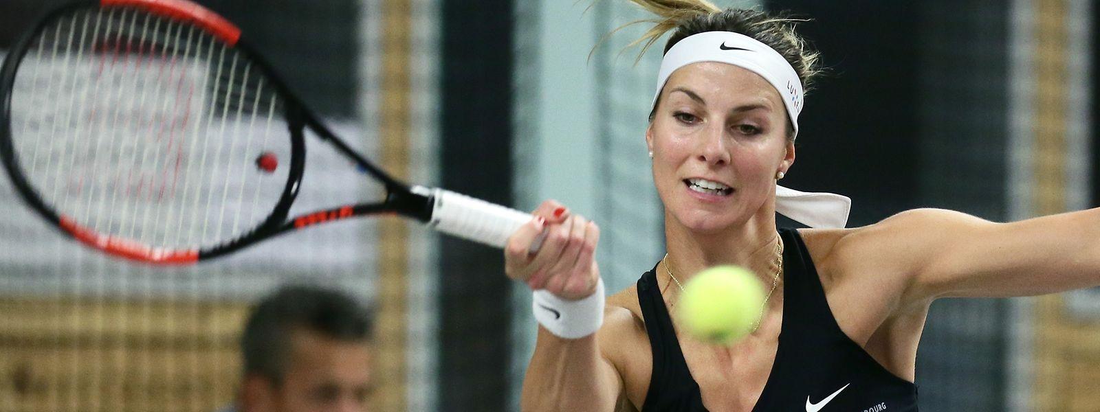Mandy Minella muss bei den Australian Open aller Voraussicht nach in der Qualifikation antreten.
