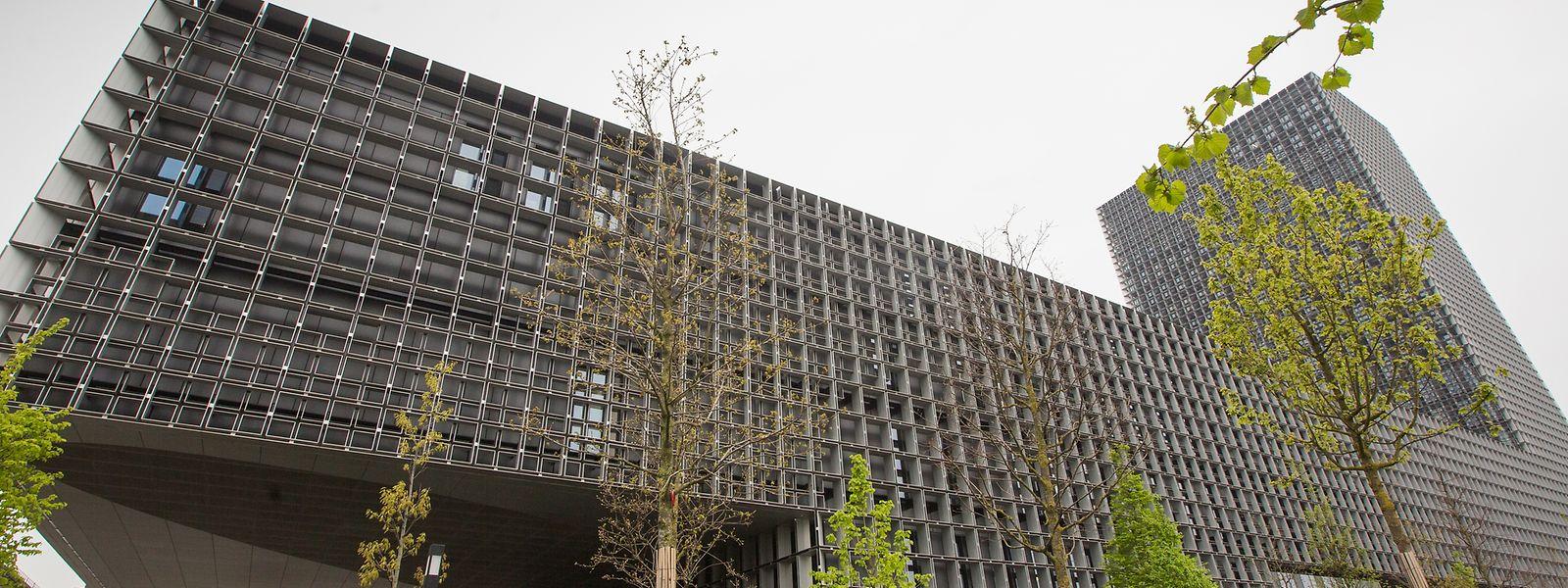 Das Gebäude der Universität Luxemburg in Belval.