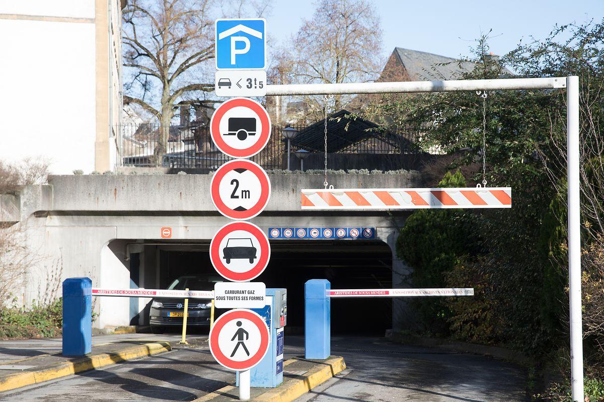 Das Parking St-Esprit bleibt bis März 2022 wegen Renovierungsarbeiten geschlossen.
