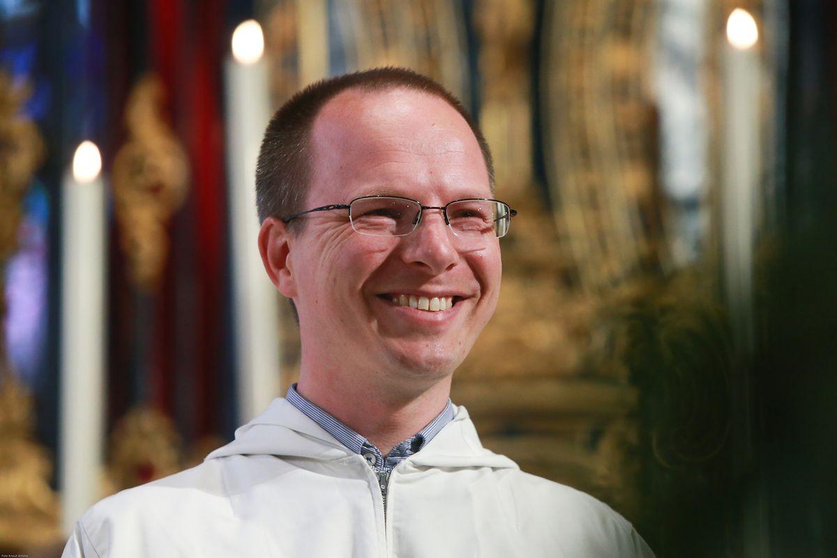 Auf dem Programm der Jugendwallfahrt stand ebenfalls das Zeugnis von Bruder Jaspers der ökumenischen Gemeischaft von Taizé.